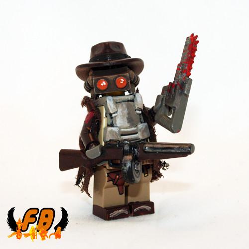 Custom minifig Updated Paranormal Gunslinger