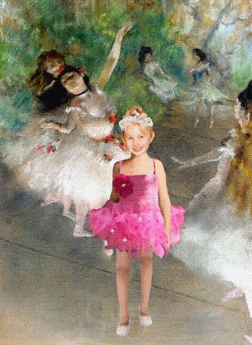 Madison Degas Painting by Lala50