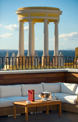 hotel Vinci terraza 2