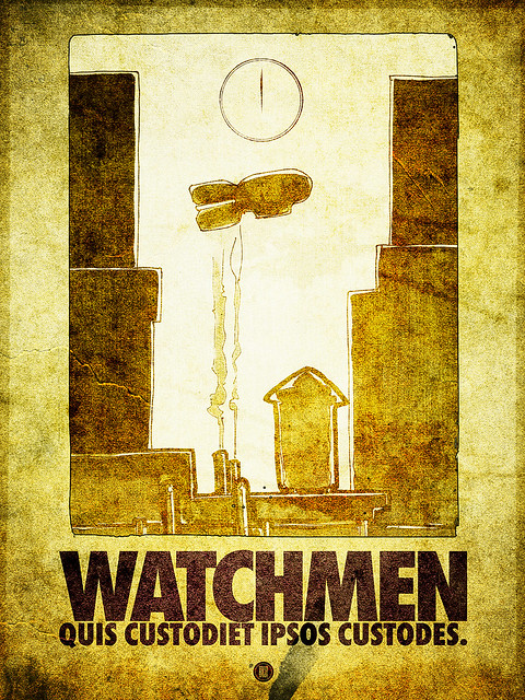 SAoS - Project 52.14 - Watchmen by Alan Moore and Dave Gibbons