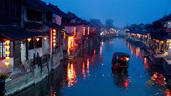 Xitang at night (shenxy) Tags: china xitang zhejiang     jiaxing