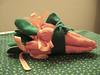 Cenourinhas de tecido para a Páscoa (comofaz) Tags: easter table handmade artesanato decoration craft fabric carrot decor mesa tutorial pap pascoa tecido decoracao costura cenoura passoapasso comofaz