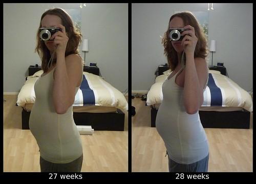 27-28 week comparison