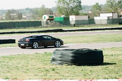 Black Lambo @ Chignolo Po (warioxin) Tags: speed 50mm minolta lamborghini pista x700 chignolo lecolline chignolopo