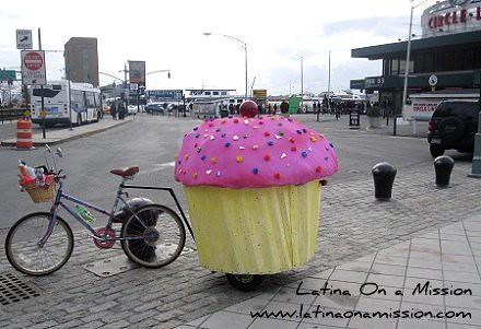 Cupcake Bike