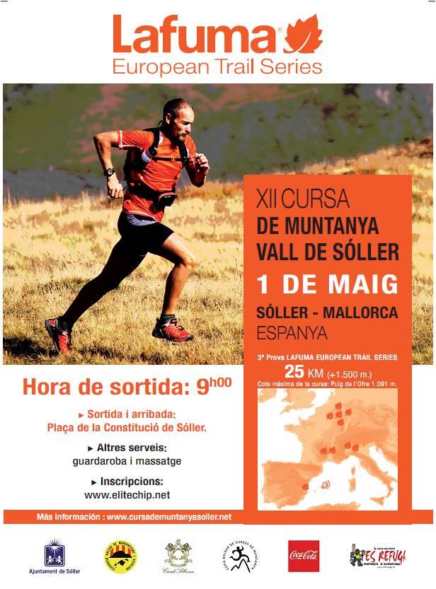 Programa XIIª Cursa Muntanya Vall                     de Sóller.