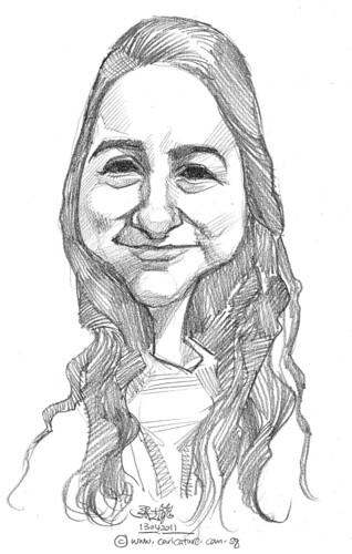 caricature in pencil - 60