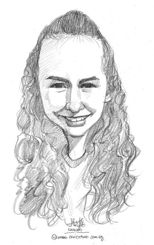 caricature in pencil - 49