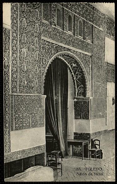 Casa de Mesa a comienzos del siglo XX. Foto HAE