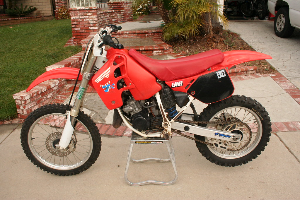 Project Bike 1990 Honda Cr125 Old School Moto Motocross Forums