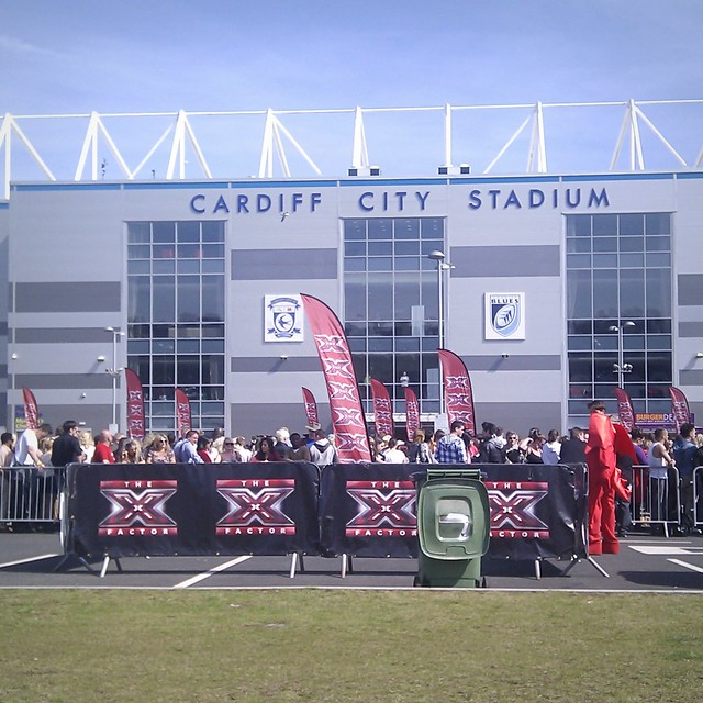 XFactor auditions at Cardiff City Stadium
