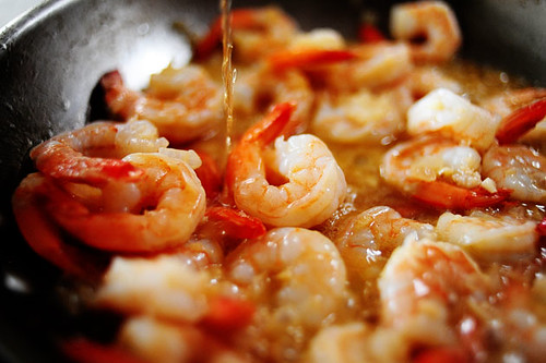 Shrimp scampi - LONG ISLAND DINING | KINGS PARK; An American Newcomer ...
