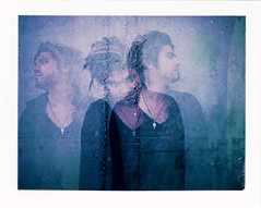 (Bliss Katherine) Tags: polaroid faces emotion quote dream eerie fujifilm ghosts tripleexposure itsalive bluetone zachwebb 100c stephenvincentbenet blisskatherinebraoudakis 103landcameramodel