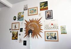 Galeria Siboney - José Luis Serzo - Montaje de la galeria - Fotografía realizada por Rafael G. Riancho