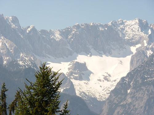 Gletscher über Garmisch-Partenkirchen