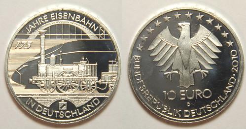 10 Euros del 2010