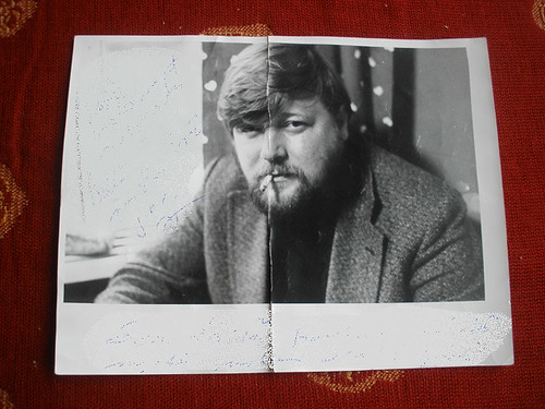 My dad - he might have been around 40, at the time..?