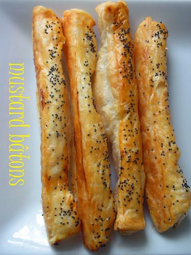 mustard bâtons