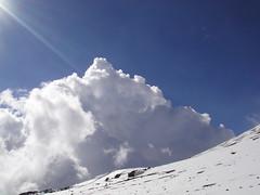 ハワイの雪