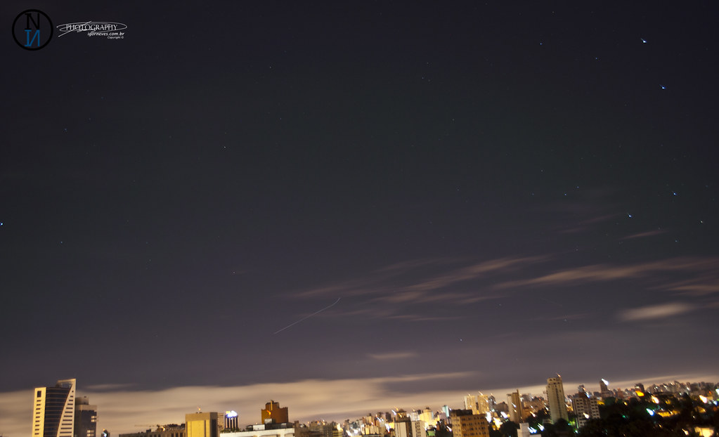 Aurora Boreal em Curitiba