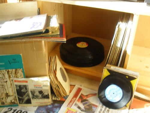 Sorting vinyls..