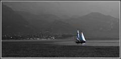 4-Lac de Garde - Explore (gio.dino3) Tags: voile lacdegarde giodino3 sonya55v
