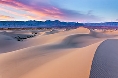 Solidute, Mesquite Dunes, Death Valley National Park (Jared Ropelato) Tags: california longexposure trip travel pink wild sky cloud expedition nature ecology lines northerncalifornia america canon landscape nationalpark ancient rocks gallery desert natural pacific northwest wind outdoor earth dunes dune fineart tripod extreme scenic conservation environmental playa visit scene science sierra professional adventure explore trail filter mesquite pacificnorthwest environment deathvalley isolation sierras northern petroglyph eco archeology rugged rockart glyph manfrotto giotto easternsierras cablerelease 2011 1635mm singhray ropelato 5dmkii ropelatophotography