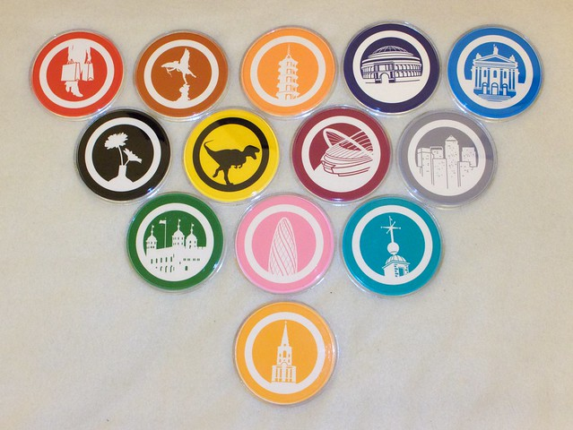 LT Museum Coaster Set