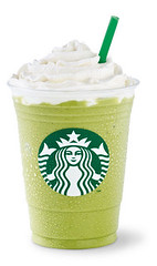 Soy Green Tea Cream Frappuccino Blended Beverage