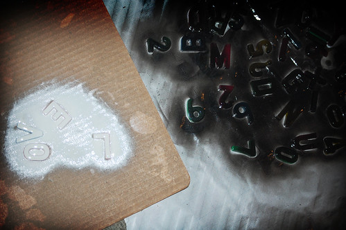 spray paint letters