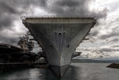 Wordless Wednesday ~ USS Independence (David's Images of Life...) Tags: canon photography photo 7d bremerton dslr washingtonstate ultrawide dailyphoto hdr cv62 davidwilliams photomatixpro wordlesswednesday ussindependencecv62 pugetsoundnavalshipyard canon7d tokina1116mm