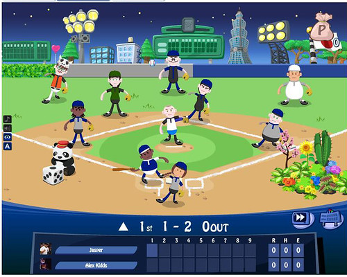 SEGA PLAY! Baseball on Facebook