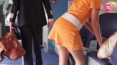 Bambi op de vlucht naar Rio (Bimbo Air) Tags: rio bambi stewardes bimboair captaineddy