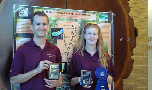 Two Ecosystem Science and Management Students Win First Place Awards