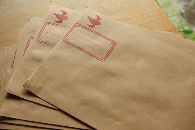 Neue Kuverts handmade by manati-mum