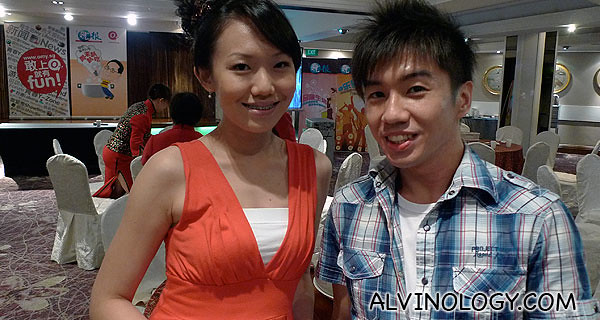 Cherie and Calvin