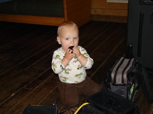 Baby David came to visit!