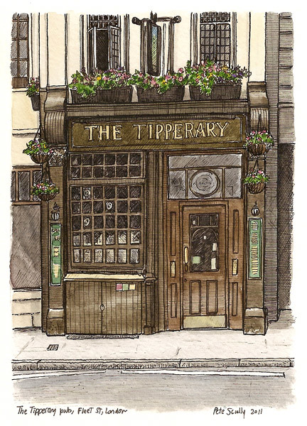tipperary pub, fleet street