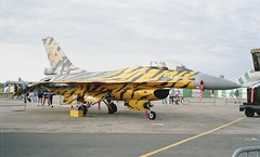 General Dynamics F-16A Fighting Falcon (Nigel Musgrove-2.5 million views-thank you!) Tags: force belgium general air tiger falcon tigers belgian 1991 fighting 31 meet dynamics raf nato squadron fairford kleine belge f16a brogel aerienne iat smaldeel fa94