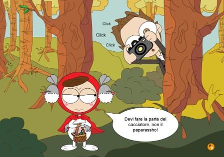 Bunny-cappuccetto-rosso-e-cacciatore by NorisBunny