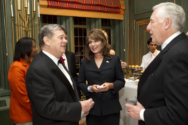 John Coale, Sarah Palin, and House Minority Leader Steny Hoyer