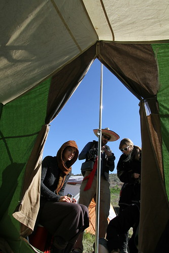 Morning Tea Session in our tent