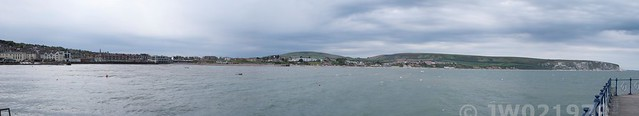 Swanage from the pier
