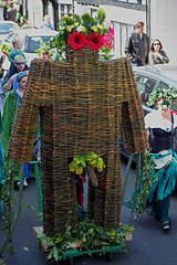 Symbol of fertility giant? The Jack-in-the-Green procession 2011 Hastings (Daves Portfolio) Tags: giant penis parade hastings procession wicker phallic oldtown phallicsymbol 2011 jackinthegreen fertilitysymbol allsaintsstreet malemember