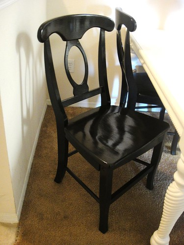 Dining chair refurbished