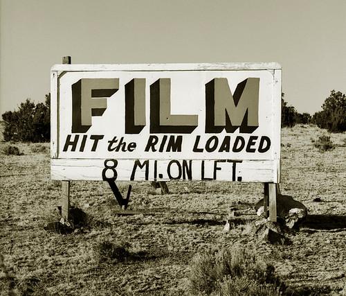 Steve Fitch, Billboard, Highway 180, Grand Canyon, Arizona, 1972