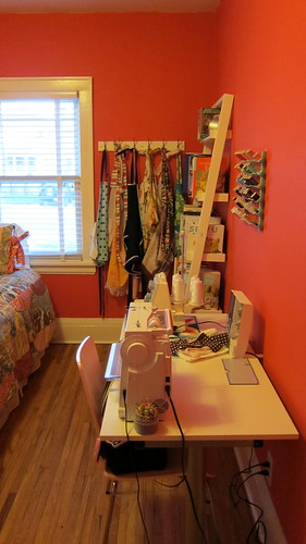 Guest Room Sewing Space