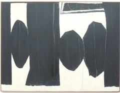 Robert Motherwell, At Five in The Afternoon, 1950 (sftrajan) Tags: sanfrancisco deyoungmuseum painting modernart musee museo robertmotherwell