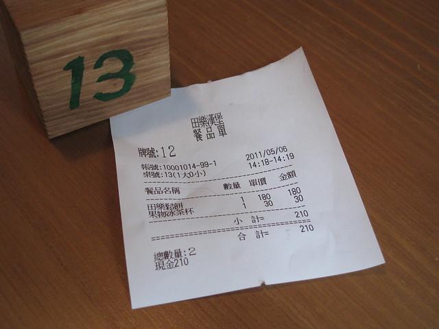 我的餐品單