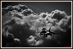 DARK SKIES AHEAD (Gaz West) Tags: west ahead vertical training plane dark airplane this boat skies fighter shot time navy jet archive royal taken gaz another theboat bomber ark 2009 wittering trainer picnik nas raf hover harrier jumpjet vtol royalnavy hmsarkroyal t12 cottesmore retiring vstol rafcottesmore canon400d rafconingsby rafwittering gazwest navalairsquadron ghastlywhisper